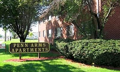 Penn Arms Apartments, 1