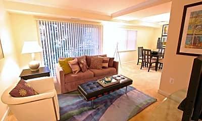 Living Room, Cavalier Court, 1
