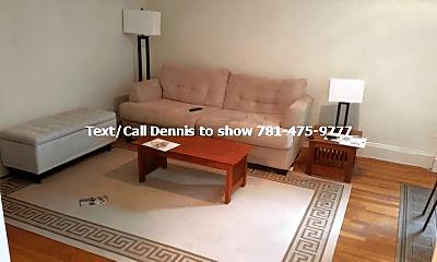 Living Room, 1639 Commonwealth Avenue, 1