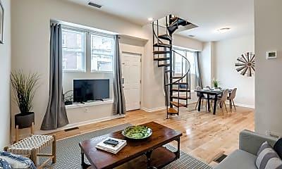 Living Room, 2061 Kater St B, 0
