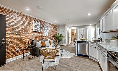 Living Room, 3221 Noble St 6, 0