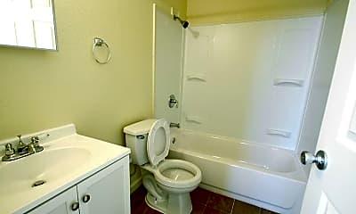 Bathroom, City View Lofts, 2