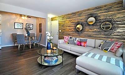 Living Room, Village Park of Rochester Hills, 1