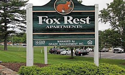 Community Signage, Fox Rest, 2