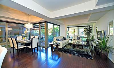 Living Room, 7151 E Rancho Vista Dr 3001, 1