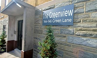 The Greenview, 1