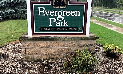 Evergreen Park Apartments I & II, 1