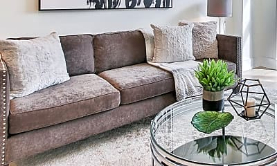Living Room, The Edge Flats on Seward, 1