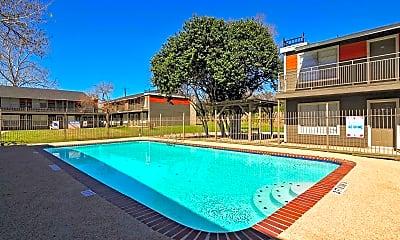 Pool, Sungate Apartments, 1
