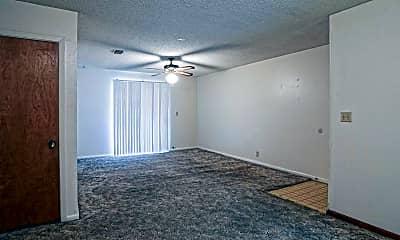 Living Room, Bar Tree Apartments, 1