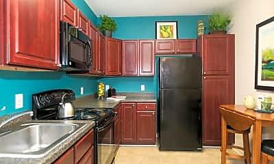 Kitchen, Mission Place, 1