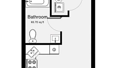 Bathroom, 547 Olive St, 2