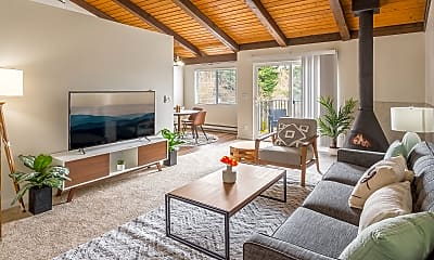 Living Room, Timbers at Kenmore, 1