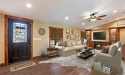 Living Room, 1300 Lipan Trail, 1