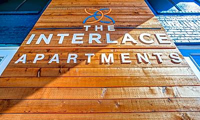 Community Signage, Interlace Apartments, 1