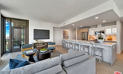 Living Room, 2801 Sunset Pl PH15, 2