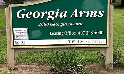 Georgia Arms, 1