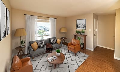 Living Room, Newport At Clearlake Apartment Homes, 0