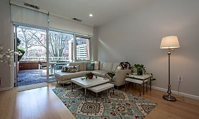 Living Room, 6 Canal Park 105, 1