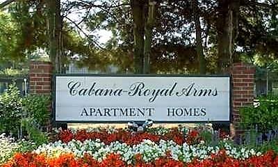 Landscaping, Cabana Royal Arms, 2