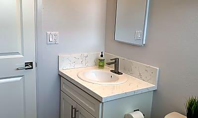 Bathroom, Stonehill Apartments, 2