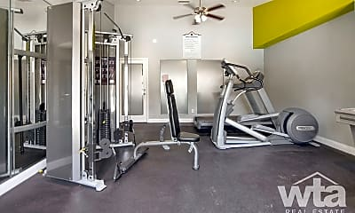 Fitness Weight Room, 2250 Ridgepoint, 2