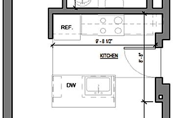 Bathroom, 4330 Palm Ave, 2