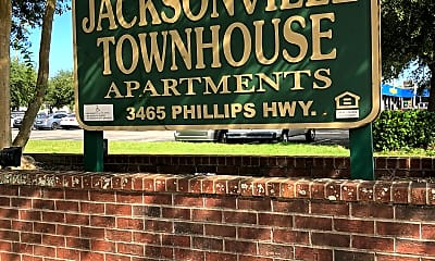 Jacksonville Townhouse Apartments, 1