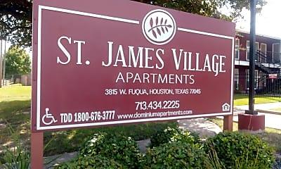 St. James Village Apartments, 1