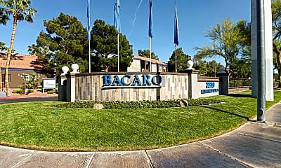 Community Signage, Bacaro at South Shores, 2