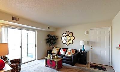 Living Room, Grafton Station Apartments, 1