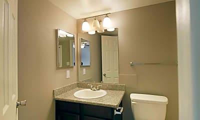 Bathroom, University Club Nacogdoches, 2