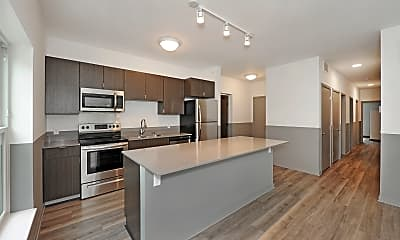 Kitchen, Northbay Student Housing, 1
