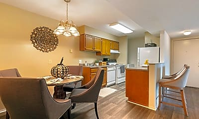 Dining Room, High River Apartment Homes, 1