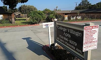College Village, 1