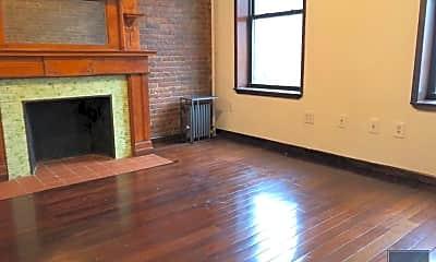 Living Room, 127 W 136th St, 2