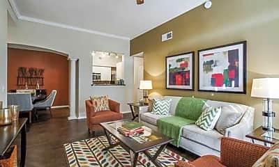 Living Room, The Ashmore At Horizon North, 1