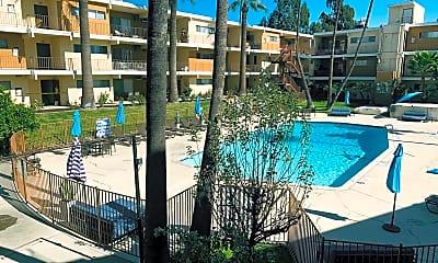 Pool, Diplomat Park Apartments, 2