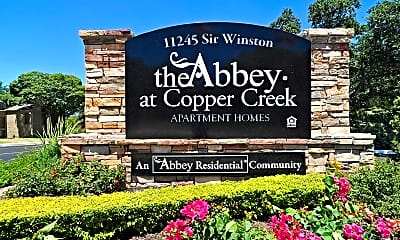 Community Signage, The Abbey at Copper Creek, 2