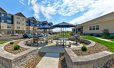 Recreation Area, Blue Ridge Apartments, 1