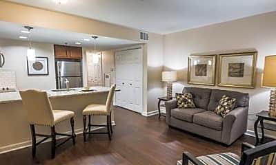 Living Room, Dunwoody Pines Apartments Senior Living, 0