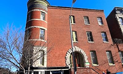 Building, 1323 N Calvert St, 0