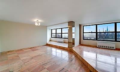 Living Room, 7004 Boulevard E 39D, 1