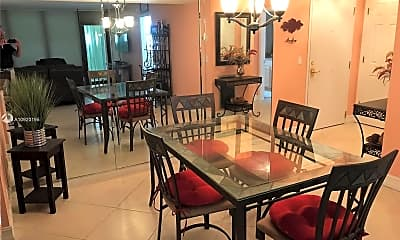 Dining Room, 336 Golfview Rd 503, 1