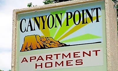 Community Signage, Canyon Point, 2