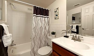 Bathroom, Congressional Towers, 2