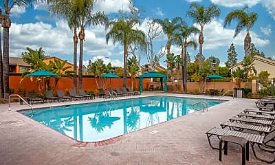 Pool, Highland Pinetree Apartments, 0
