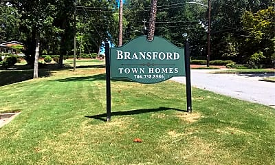 Bransford Townhouses, 1