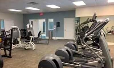 Fitness Weight Room, Eastover Ridge, 2