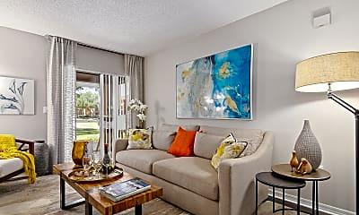 Living Room, Advenir at Gateway Lakes, 1